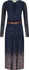 Granatowa sukienka Michael Kors