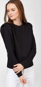 Czarny t-shirt ORSAY z długim rękawem