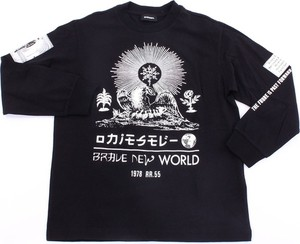 Czarny t-shirt Diesel z bawełny