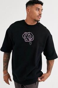 Bluza Asos z nadrukiem z dresówki