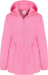 Różowa kurtka Silvian Heach krótka