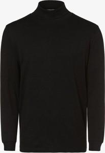 Czarna koszulka z długim rękawem Mc Earl