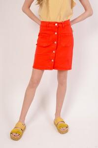 Pomarańczowa spódnica Olika mini
