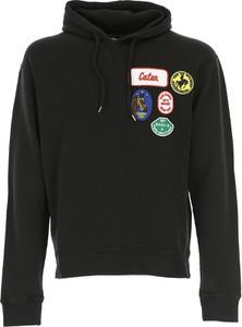Czarna bluza Dsquared2 z bawełny w street stylu