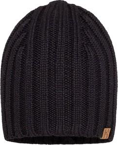 Czarna czapka Barbaras