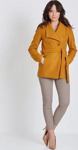 Brązowy płaszcz Marcelini