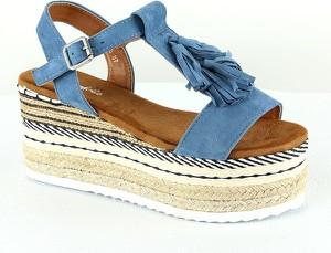 Sandały Foreverfolie na platformie w stylu casual