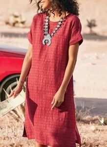 Czerwona sukienka Sandbella mini