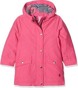Różowy płaszcz dziecięcy Joules