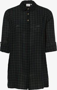 Koszula Junarose z krótkim rękawem w stylu casual z kołnierzykiem