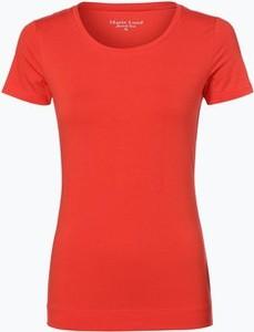 Czerwony t-shirt marie lund