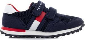 Granatowe buty sportowe dziecięce Tommy Hilfiger