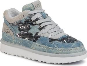 Sneakersy UGG Australia sznurowane