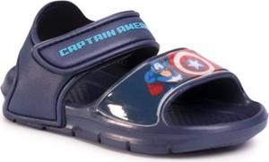 Granatowe buty dziecięce letnie AVENGERS