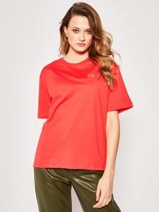 T-shirt Lacoste z krótkim rękawem w stylu casual