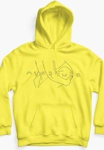 Żółta bluza REST_FActory z bawełny w młodzieżowym stylu
