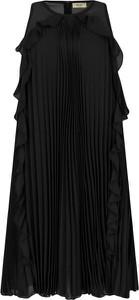 Sukienka Liu-Jo z okrągłym dekoltem midi