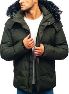 Zielona kurtka Denley w stylu casual