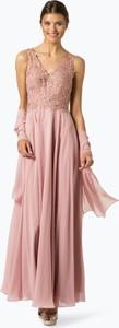 Różowa sukienka Unique maxi