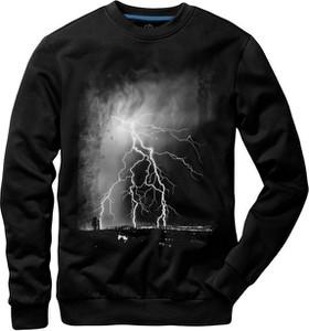 Czarna bluza Underworld z nadrukiem
