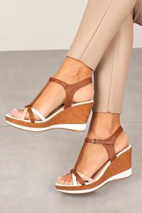 Sandały Sergio Leone ze skóry ekologicznej