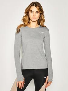 T-shirt Nike w sportowym stylu z długim rękawem z nadrukiem
