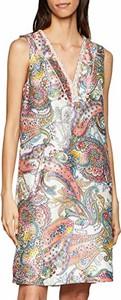 Sukienka amazon.de prosta bez rękawów w stylu boho