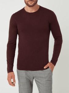 Czerwony sweter McNeal z bawełny w stylu casual