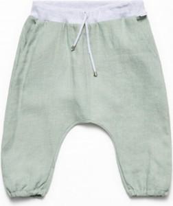 Zielone spodnie dziecięce Banana Kids dla chłopców