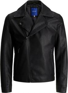 Czarna kurtka Jack Jones w stylu casual