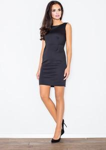 Czarna sukienka Figl mini
