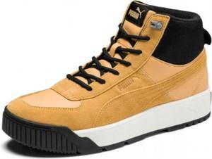 Buty zimowe Puma z zamszu