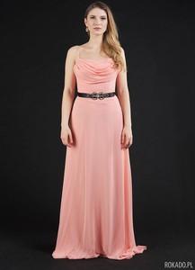 Różowa sukienka Rokado