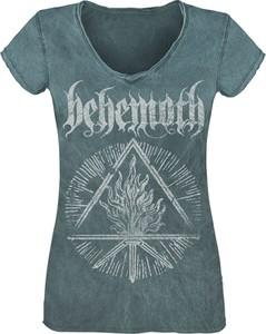 T-shirt Emp w młodzieżowym stylu z nadrukiem z krótkim rękawem
