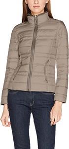 Brązowa kurtka amazon.de krótka w stylu casual