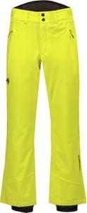 Żółte spodnie sportowe Descente w sportowym stylu