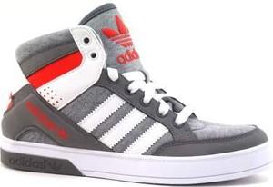 Buty sportowe Adidas Originals z płaską podeszwą z nadrukiem ze skóry ekologicznej