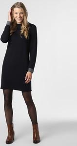 Czarna sukienka Apriori mini z długim rękawem
