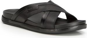 Czarne buty letnie męskie Wittchen