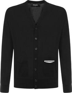 Czarny sweter Dsquared2
