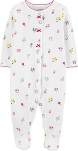 Carter's Pajac piżama pointelle kwiaty