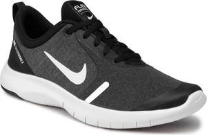 Czarne buty sportowe Nike sznurowane flex