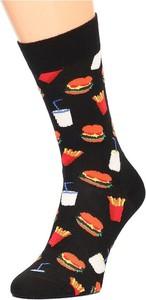 Czarne skarpetki Happy Socks