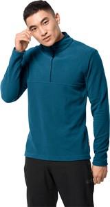 Niebieska bluza Jack Wolfskin z plaru