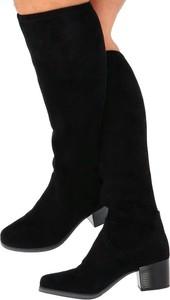 Kozaki Caprice w stylu klasycznym na obcasie