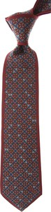 Brązowy krawat Mila Schon