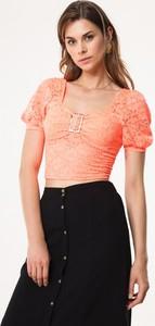 Pomarańczowa bluzka born2be