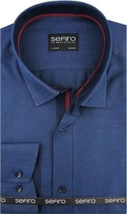 Koszula Sefiro z długim rękawem z tkaniny
