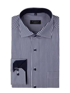 Koszula Eterna w stylu casual z długim rękawem
