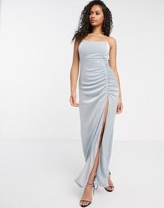 Niebieska sukienka Rare